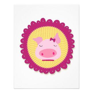 Mrs Piggy Personalized Invitation