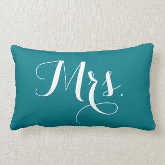 """""""Mrs."""" pillow"""