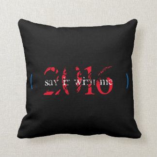 MRS. PRESIDENT CUSHION