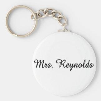 Mrs. Reynolds Key Chain