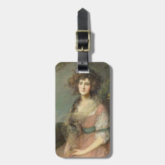 Mrs. Richard Brinsley Sheridan, 1785- 87 Bag Tag