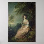 Mrs. Richard Brinsley Sheridan, c.1785-87 Poster