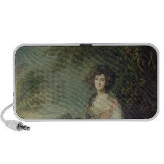 Mrs. Richard Brinsley Sheridan, c.1785-87 Travel Speaker