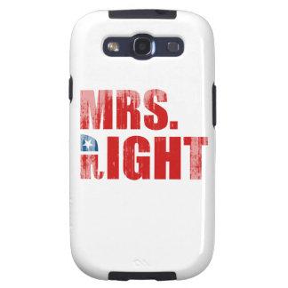 MRS. RIGHT GALAXY S3 CASE