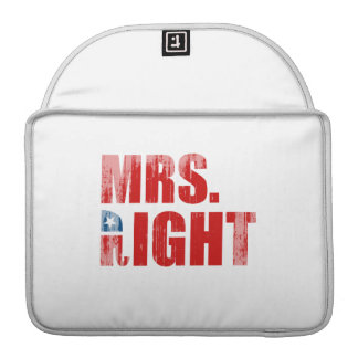 MRS. RIGHT MacBook PRO SLEEVES