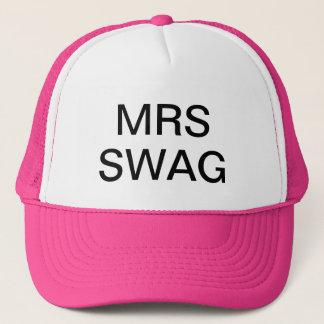 MRS Swag !  Hat, For Sale ! Trucker Hat