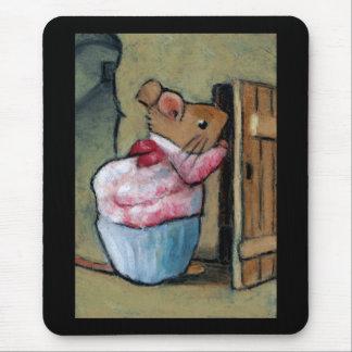 MRS TITTLEMOUSE (in Oil Pastel) Mouse Mat