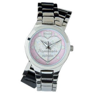 Mrs. Wedding Day Countdown. Engaged! Fiance Wristwatches