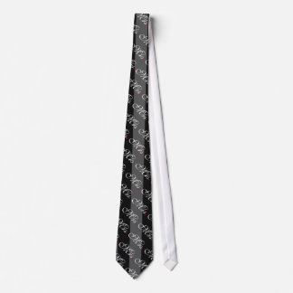 Mrs. Wife Bride His Hers Newly Weds Tie