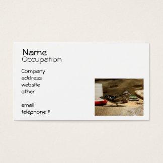 Mrs. Wood Duck Business Card