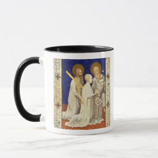 MS 11060-11061 John, Duc de Berry on his knees bet Mug