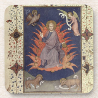 MS 11060-11061 Psalms of Penitence: Christ in Maje Coasters