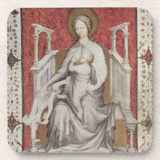 MS 11060-11061 The Virgin suckling the infant Jesu Drink Coasters