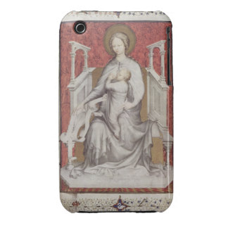 MS 11060-11061 The Virgin suckling the infant Jesu iPhone 3 Case