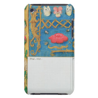 Ms 134 Illuminated letter `A' and side border of f iPod Case-Mate Cases