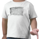 Ms.1548  Ouverture of the opera 'Don Giovanni' T-shirt