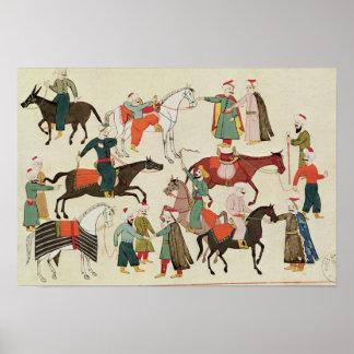 Ms 1671 A Horse Market, c.1580 Poster