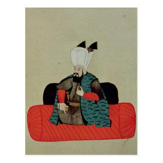 Ms 1671 Amurath  III  c.1580 Postcard