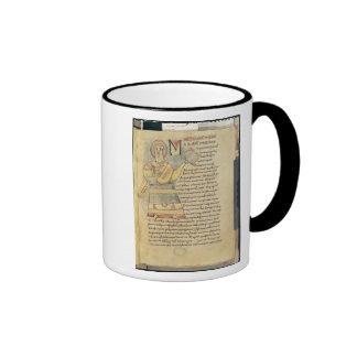 Ms 18 f.8 St. Matthew the Evangelist Mugs