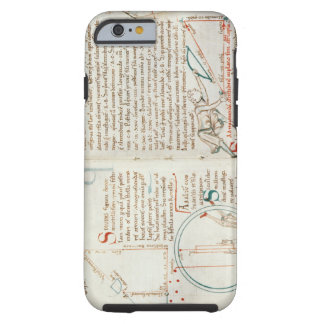 Ms 235 f.32 & 33 Geometry, from a 'Traite d'Astron Tough iPhone 6 Case
