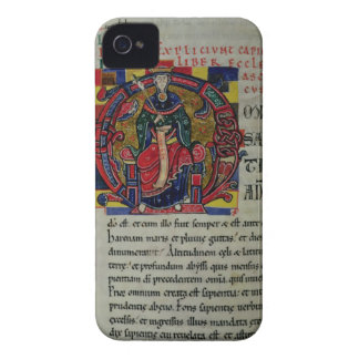Ms 2 fol.8 Historiated initial 'O' depicting a fig iPhone 4 Cases