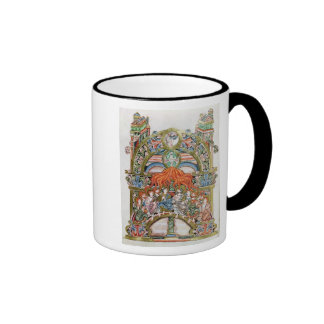 Ms 369  f.29v Pentecost Mugs