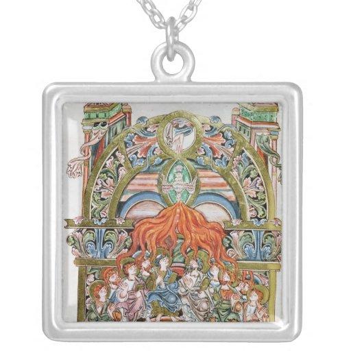 Ms 369  f.29v Pentecost Jewelry