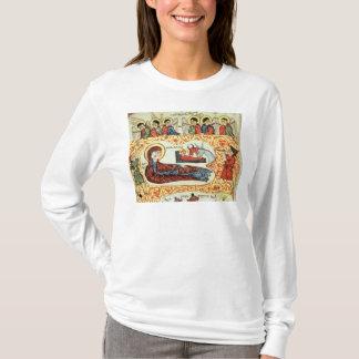 Ms 404 fol.1v The Nativity, from a Gospel T-Shirt