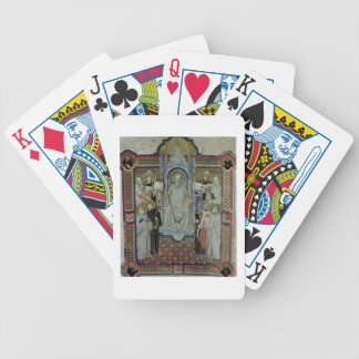 Ms 501 St. Benedict (vellum) Bicycle Playing Cards