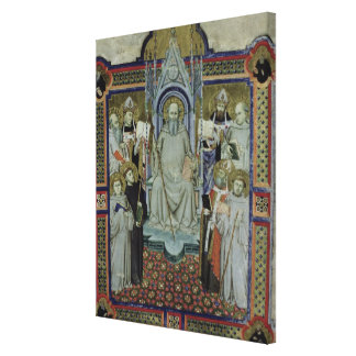 Ms 501 St. Benedict (vellum) Canvas Print