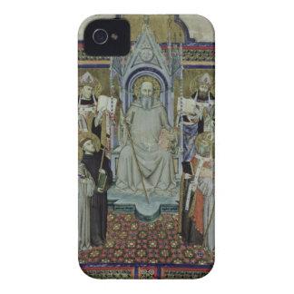 Ms 501 St. Benedict (vellum) iPhone 4 Case-Mate Cases