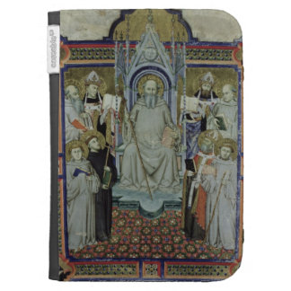 Ms 501 St. Benedict (vellum) Case For Kindle