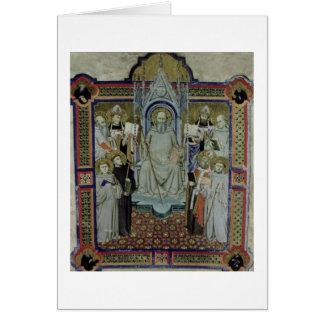 Ms 501 St. Benedict (vellum) Greeting Card