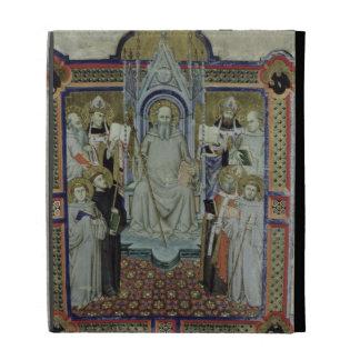 Ms 501 St. Benedict (vellum) iPad Folio Cases