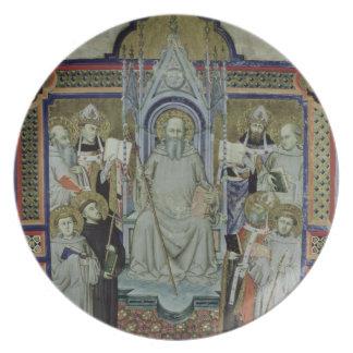 Ms 501 St. Benedict (vellum) Plates