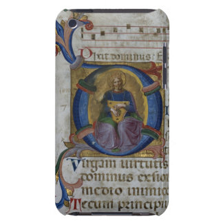 Ms 531 f.169v Historiated initial 'D' depicting Ki Barely There iPod Cover