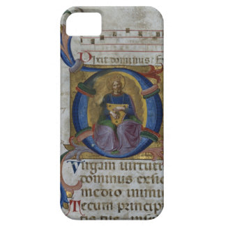 Ms 531 f.169v Historiated initial 'D' depicting Ki iPhone 5 Covers