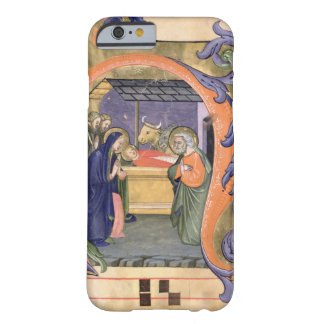 Ms 571 f.6r Historiated initial 'H' depicting the Barely There iPhone 6 Case