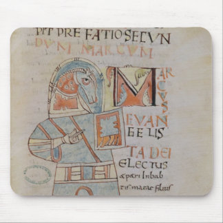 Ms 8 f.42 St. Mark the Evangelist Mouse Pad