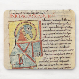 Ms 8 f.95v St. John the Evangelist Mouse Pad
