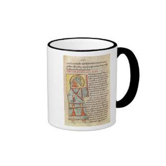 Ms 8 f.95v St. John the Evangelist Mugs