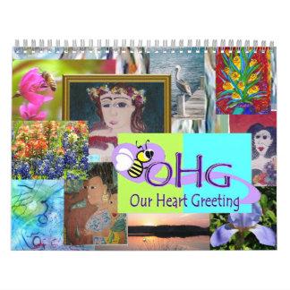 MS Artists 2012 Calendar ~ Customizable
