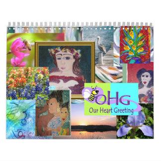 MS Artists Calendar for Mulitple Sclerosis