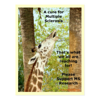 MS Awareness Postcard ~ Reaching