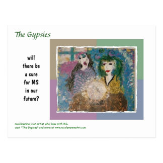 MS Awareness Postcard ~ The Gypsies