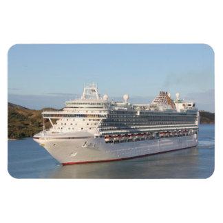 MS Azura Cruise Ship Close-Up on Antigua Rectangular Photo Magnet