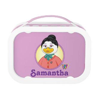 Ms. Birdy Lunch Box