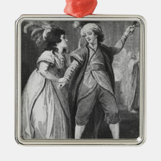 Ms. Brunton and Mr. Holman as Palmira and Christmas Ornament
