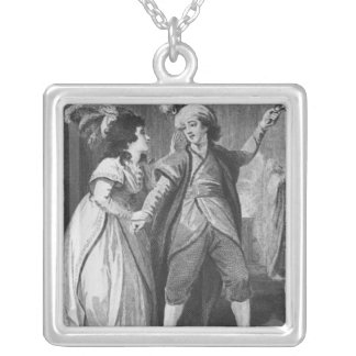 Ms. Brunton and Mr. Holman as Palmira and Silver Plated Necklace