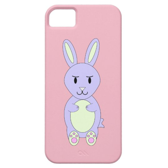 Ms. Bunnykins Pink iPhone Case